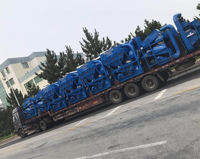 河南2017款LY-20000型环保花生剥壳机组